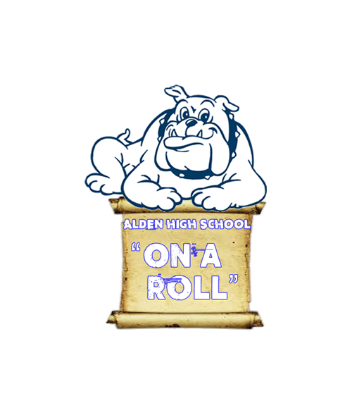 on a roll graphic