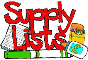 Supply Lists 20-21 / APS School Supply Lists