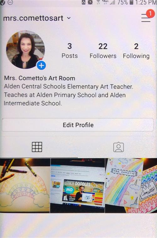 Mrs. Cometto's Instagram Page