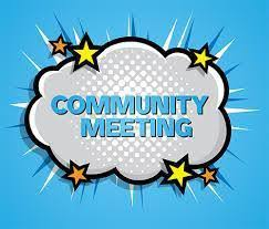 Community Based Committee Meeting