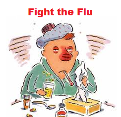 Fight the Flue graphic