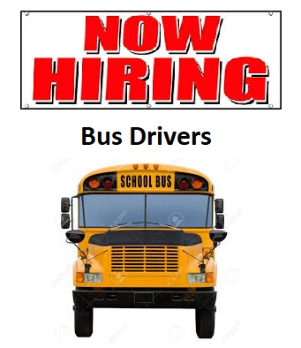 Hiring Bus Drivers Graphic